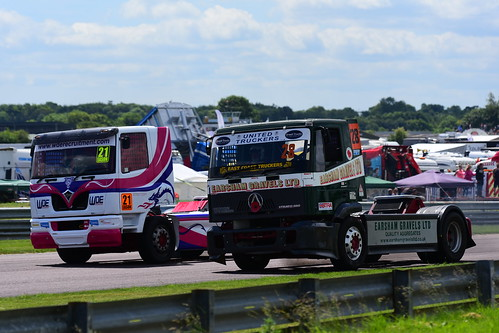 Joanne Eason, Foden Alpha 11000 - Jim Bennett, Seddon Atkinson 14000, British Truck Racing Championship, Thruxton 2017