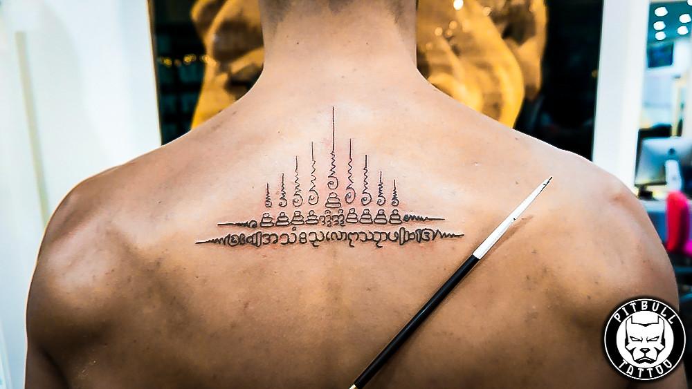 Bamboo Sak Yant Tattoo Www Pitbulltattoothailand Com Flickr