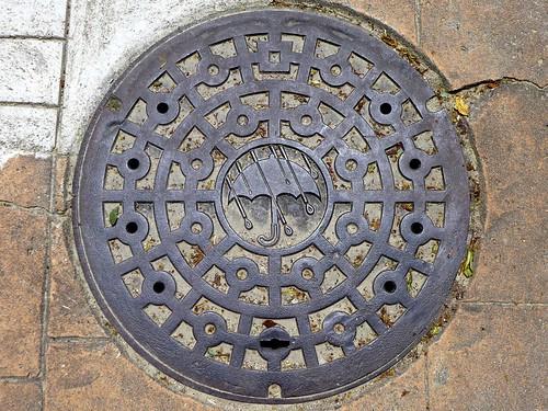 Ikoma Nara, manhole cover 5 (奈良県生駒市のマンホール5)