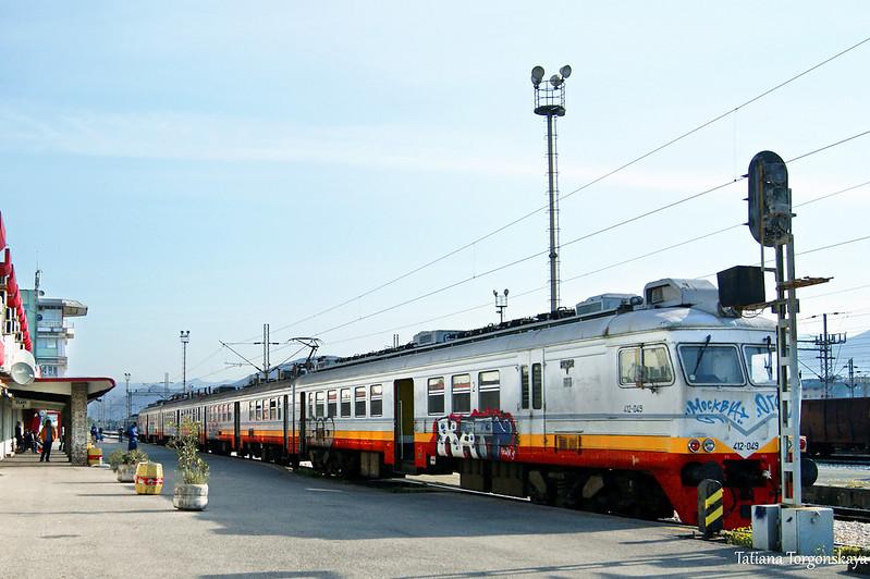 Поезд в Подгорице