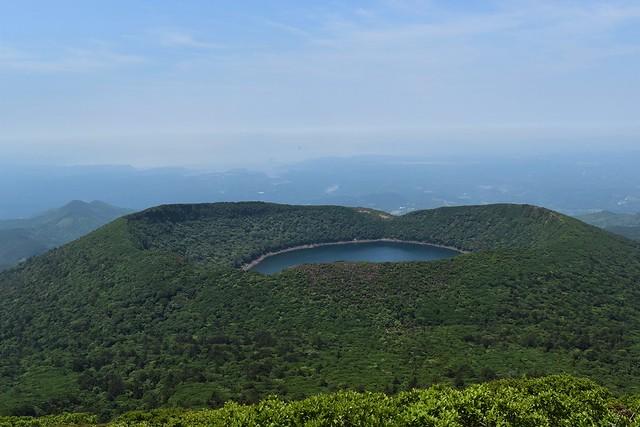 韓国岳の大浪池