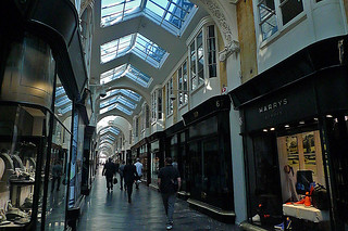 London - Burlington Arcade crowd