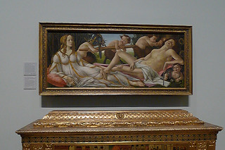 London - National Gallery Botticelli Venus and Mars
