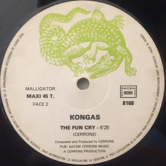 KONGAS:WHY CAN'T WE LIVE TOGETHER(LABEL SIDE-B)