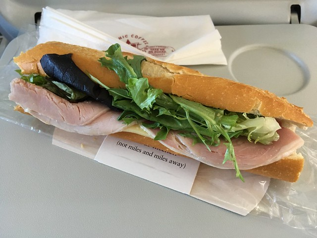 Ham and cheese sandwich - Pret A Manger