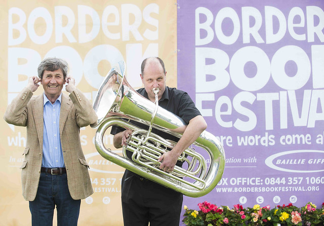 Baillie Gifford Borders Book Festival 2017 Day 1