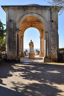 Statue of Ceres, Villa Cimbrone, Ravello, Italy | by Gwendolyn Stansbury