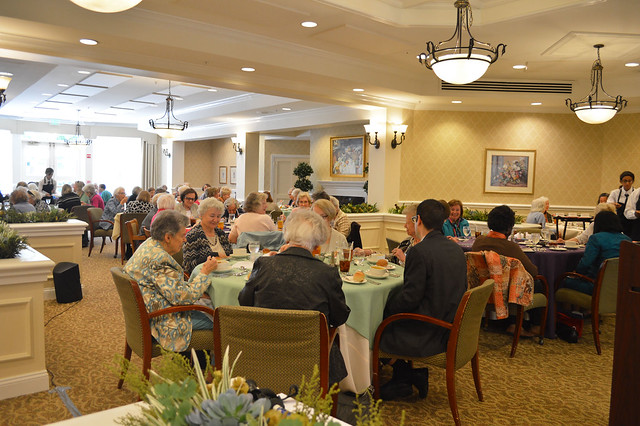 GenMtgMayLunch2017_0005; members of the club.