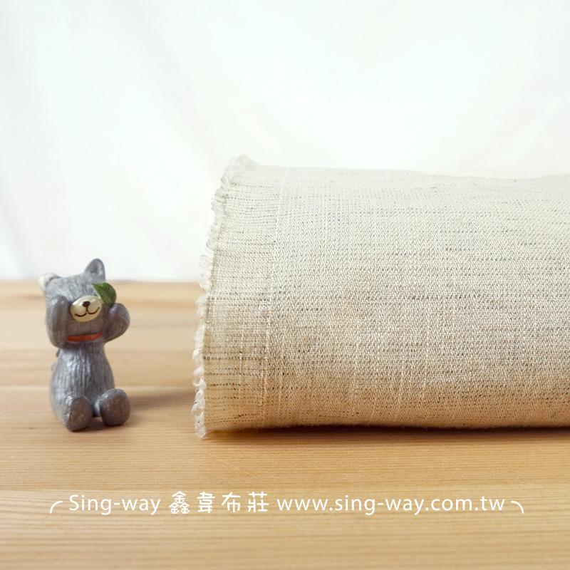 胚色水洗棉麻 簡約無印 禪風 裝飾用布 手工藝DIy拼布布料 FA690041