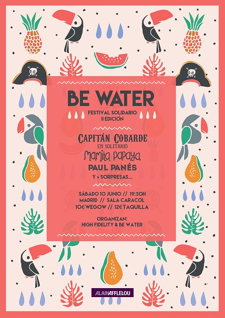 festival solidario be water