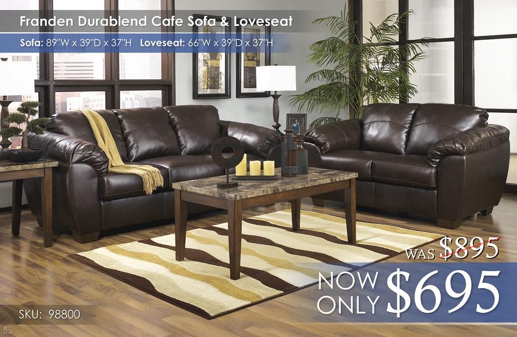 Franden Durablend Cafe Living Set 98800-38-35-T158-R228