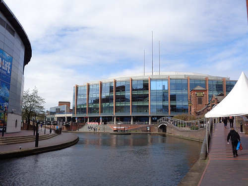 Worcester and Birmingham Canal 08 - National Indoor Arena.JPG | by worldtravelimages.net