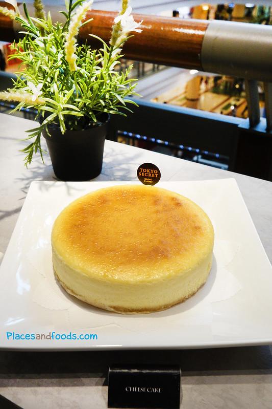 tokyo secret cheese cake