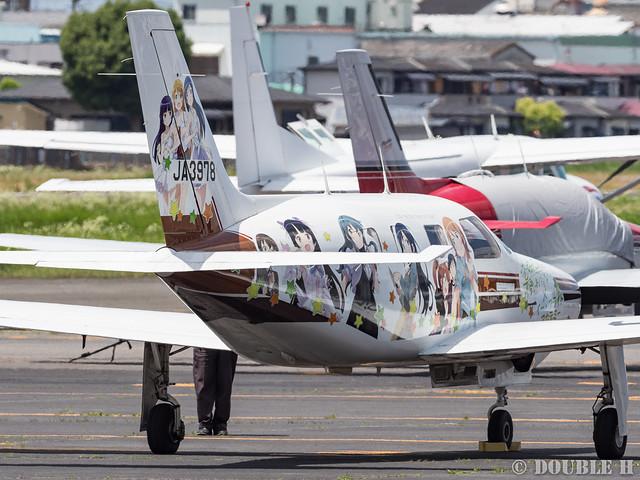 痛飛行機 - Anime wrapping airplane in RJOY 2017.6.4 (12)
