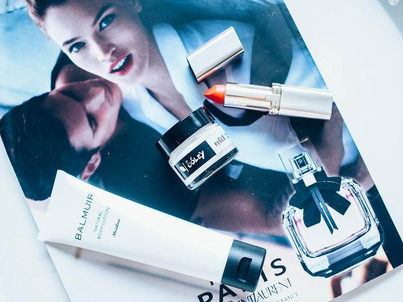 FinnairBalmuirOnboardShoppingSoleyCOsmeticsP5176416.jpg, ostokset, shopping, balmuir, finland, suomi, natural body lotion, ihorasva, huulipuna, lipstick, soley,