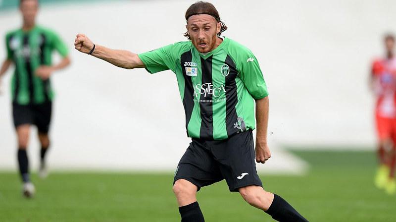 Luca Cattaneo, centrocampista mancino del Pordenone