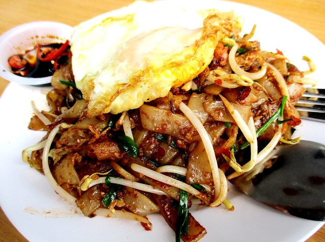 Happiness Cafe sambal kway teow