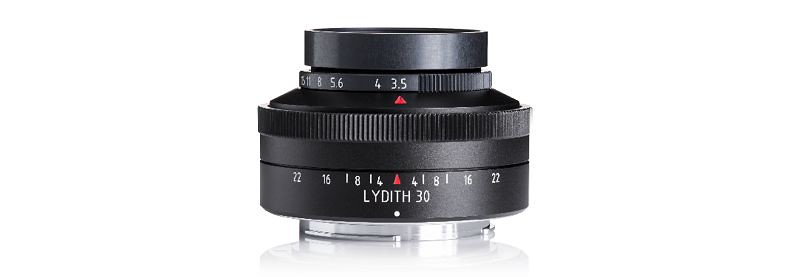 Meyer Optik Gorlitz lance une version moderne de l'objectif Lydith 30mm f/3.5