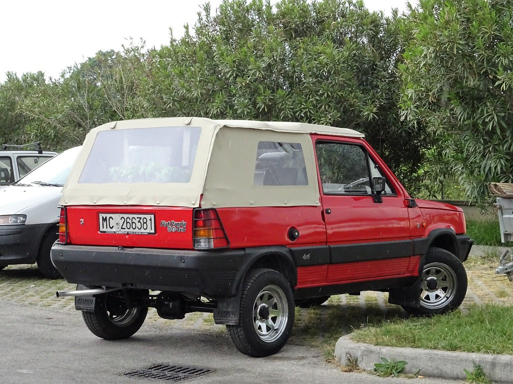1985 fiat panda 4x4 rock moretti alessio flickr. Black Bedroom Furniture Sets. Home Design Ideas