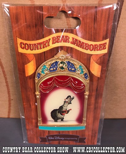2013 Walt Disney Imagineering Limited Edition Pin of Terrence aka Shaker - Country Bear Collector Show #110