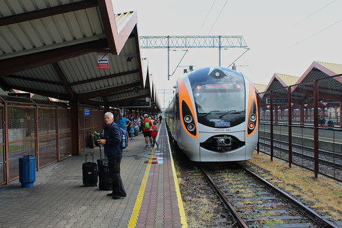 IC+ train to L'viv and Kiev at Przemyśl Główny train station | by Timon91