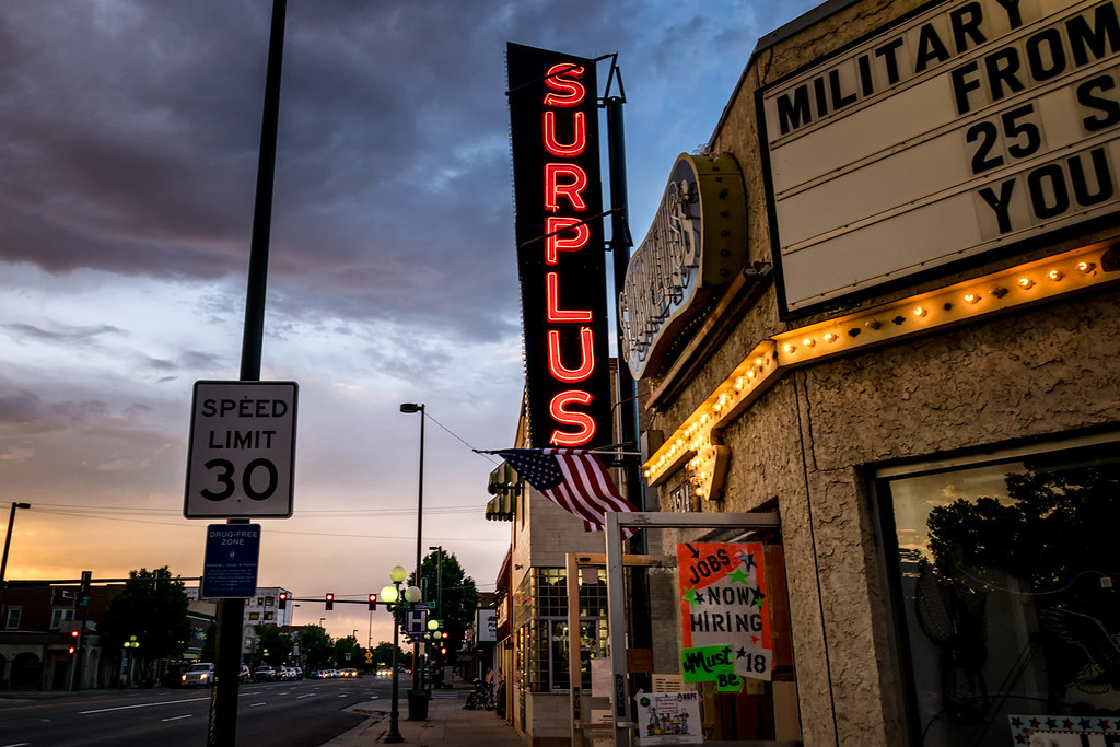 Army Surplus, South Broadway, Englewood CO