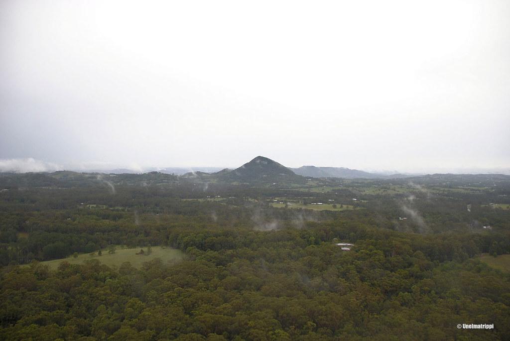 Näköalapaikalla Noosan tuntumassa Australiassa