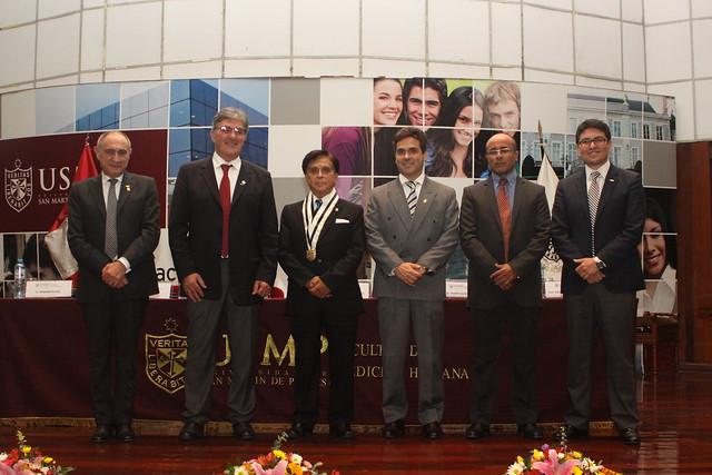 Facultad de Medicina Humana de la USMP incorporó como profesores honorarios a los Doctores Aldo Scarpa, Massimo Rugge y Jorge Castillo, especialistas en Medicina de Precisión