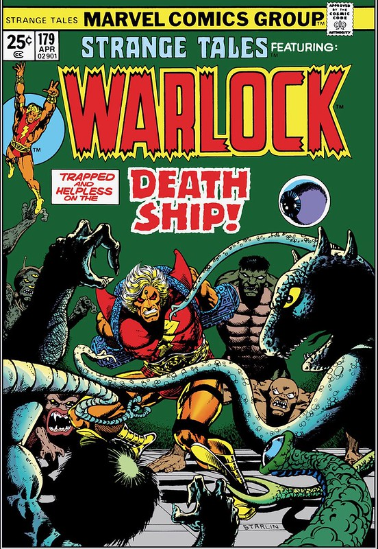 Strange Tales 179 Warlock Jim Starlin