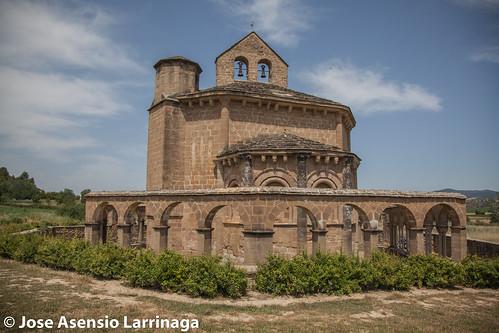 Iglesia de Santa María de Eunate - Muruzábal - 2017 #DePaseoConLarri #Flickr -293