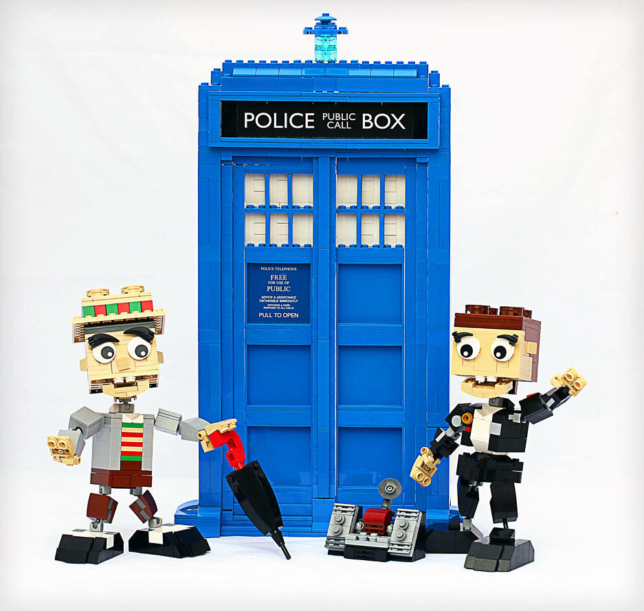 You never forget your first Doctor - Frostbricks