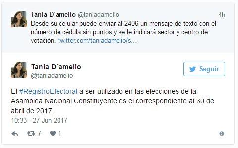 Presidenta del CNE se reunirá con Poderes Públicos