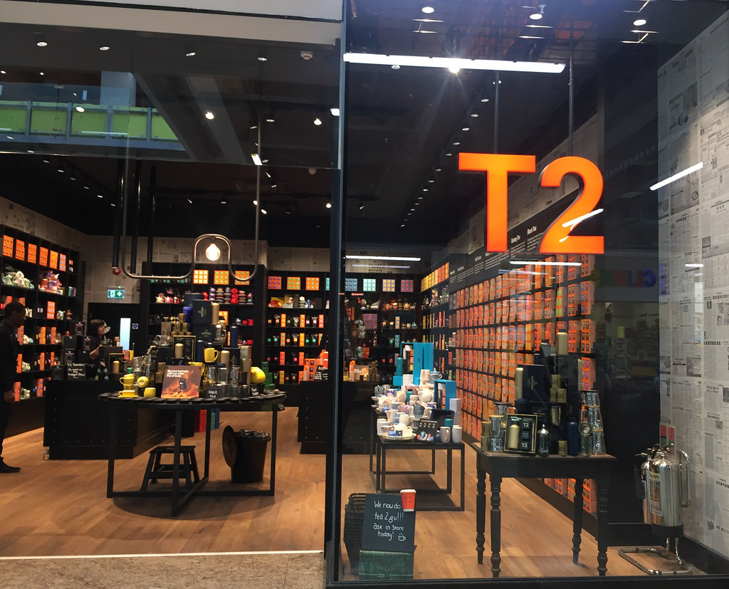 The T2 Shop in Sheffield