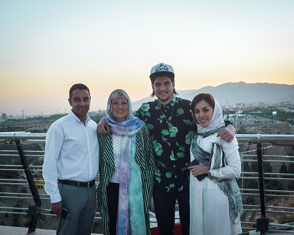 Friends in Tehran