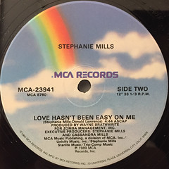 STEPHANIE MILLS:SOMETHING IN THE WAY(YOU MAKE ME FEEL)(LABEL SIDE-B)