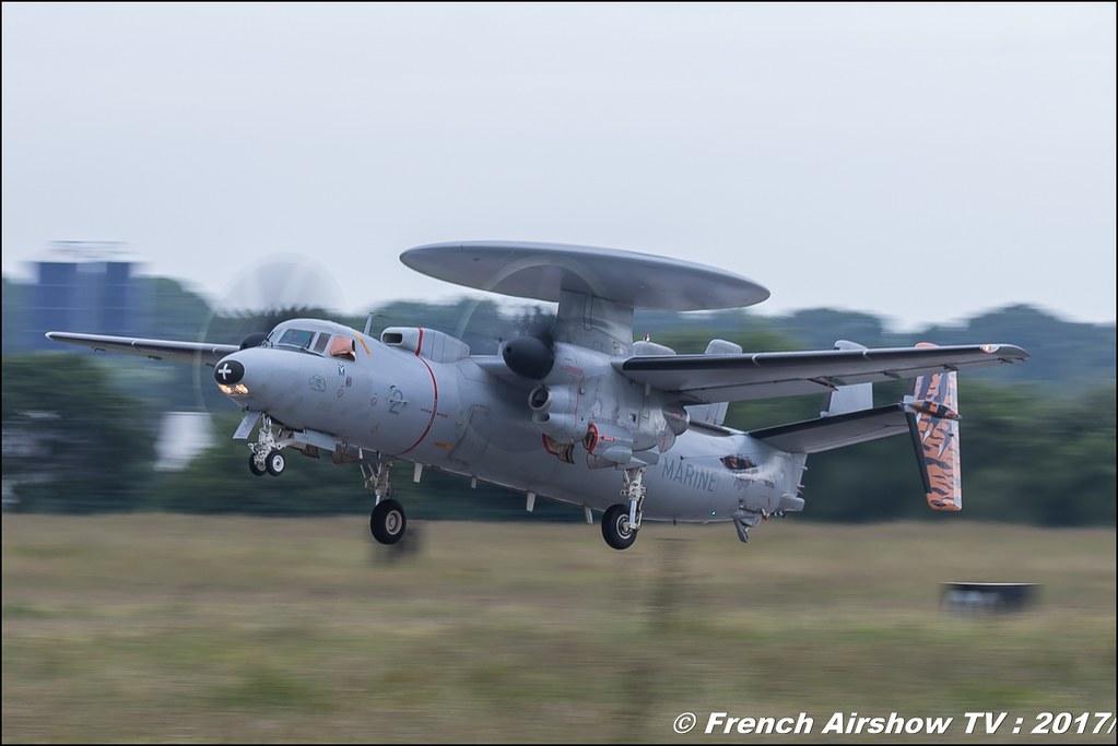 E-2CHawkeye , 4F (FN) ,Marine , aeronavale , Nato Tiger Meet landivisiau 2017 , NTM2017 ,Spottersday Nato Tigers , Harde to be humble , bretagne