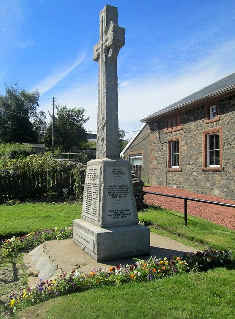 Crawford War Memorial Side View