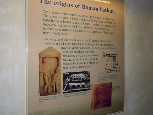 The Origins of Roman Bathing. From Studying Abroad in London: A Trip to Bath