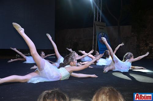 Alanya Toros Jimnastik Okulu öğrencileri şovlarıyla beğeni topladı