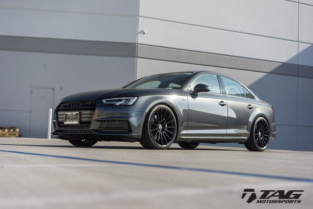 HRE Wheels   Audi B9 S4 with FlowForm FF15 Wheels in Tarmac! - 6SpeedOnline - Porsche Forum and ...