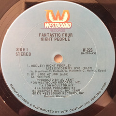 FANTASTIC FOUR:NIGHT PEOPLE(LABEL SIDE-A)