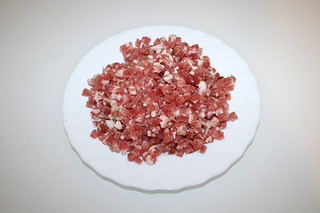02 - Zutat Speckwürfel / Ingredient diced bacon