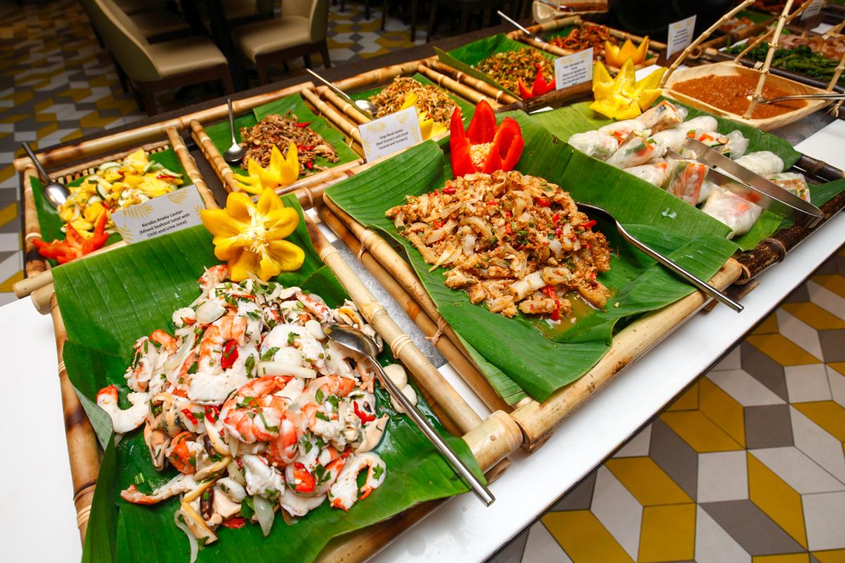 Shangri-la Lemon Garden Buffet Kerabu