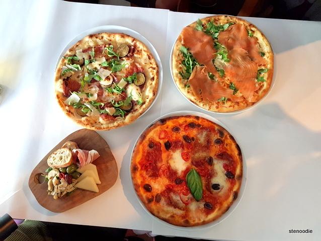 Il Fornello pizzas