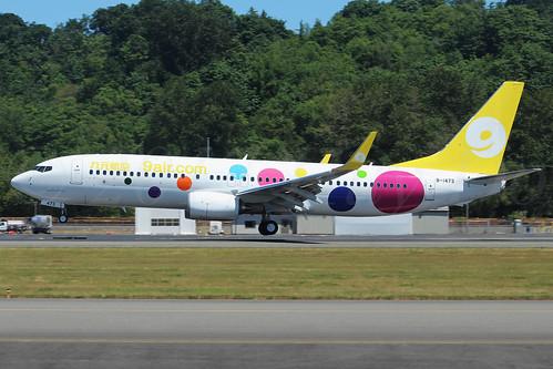 Boeing 737-86X(WL) 9 Air B-1473 LN6460