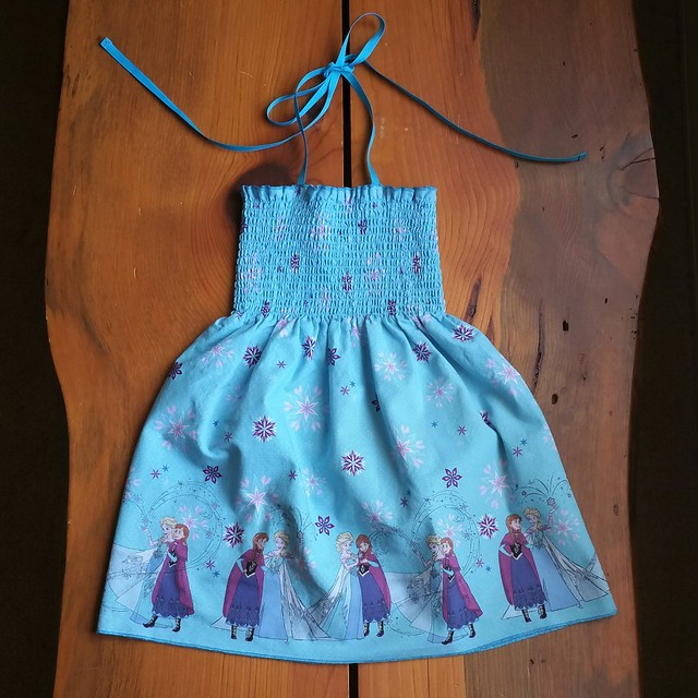 Pre-Smocked Girl's Dress with Adjustable Straps | shirley shirley bo birley Blog