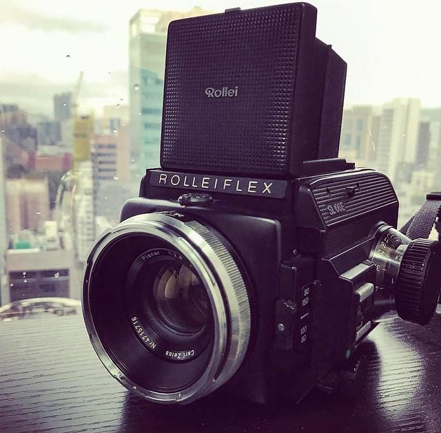 Rolleiflex SL66E NON HFT的黑白世界