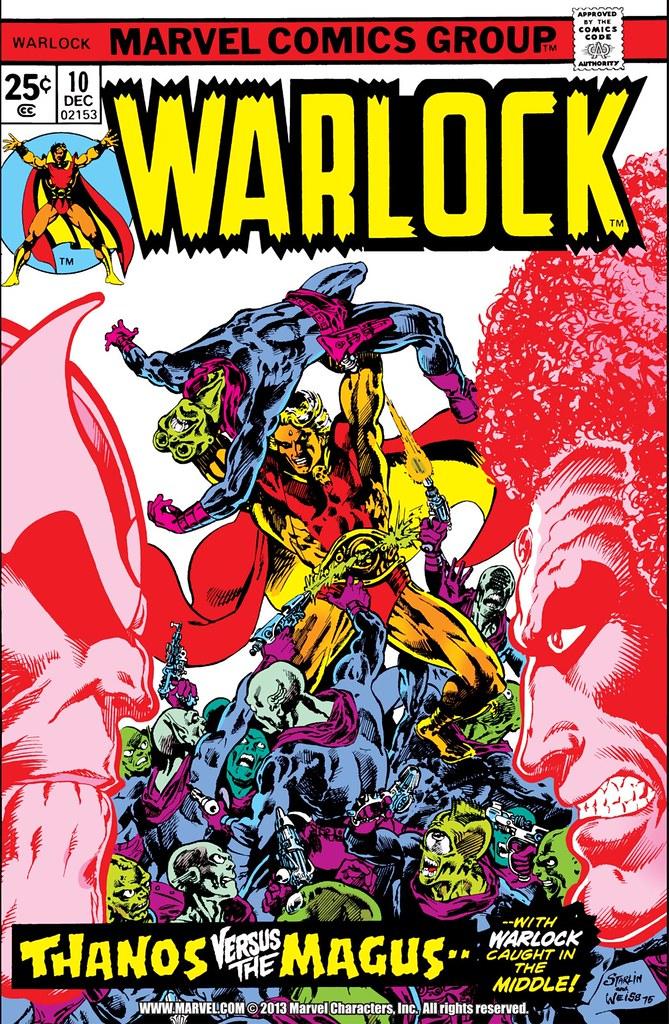Warlock 10 cover Starlin Weiss