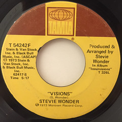 STEVIE WONDER:LIVIN' FOR THE CITY(LABEL SIDE-B)
