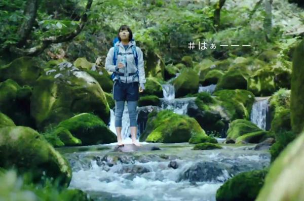 宇多田ヒカル、美しい水の流れる様子やその音に「#はぁーーー」